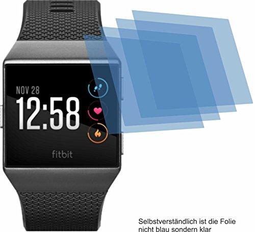 4ProTec 4X ANTIREFLEX matt Schutzfolie für Fitbit Ionic Displayschutzfolie Bildschirmschutzfolie Schutzhülle Displayschutz Displayfolie Folie