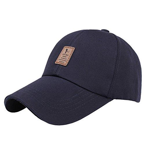 ZYHstore Unisex 100% Baumwolle Köper Plain Baseball Snapback Kappe Mütze mit Verstellbar Gurt Niedriger Profil Polo Style Einstellbar Hut für Herren & Damen (Benutzerdefinierte Caps Hüte,)