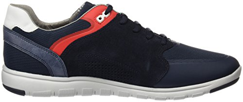 Geox U Xunday 2fit C, Sneakers Basses Homme Bleu (Navyc4002)