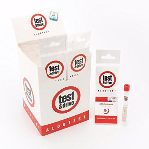 Preisvergleich Produktbild Test & Drive Doppelpack Alkoholtest-Set, Großbritannien und Frankreich Standards