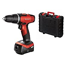 Einhell Cordless Screwdriver TH-CD 14,4-2 Li (Lithium Ion, 14,4 V, 1,3 Ah, 2 Gear, 33 Nm, Charger, Case)