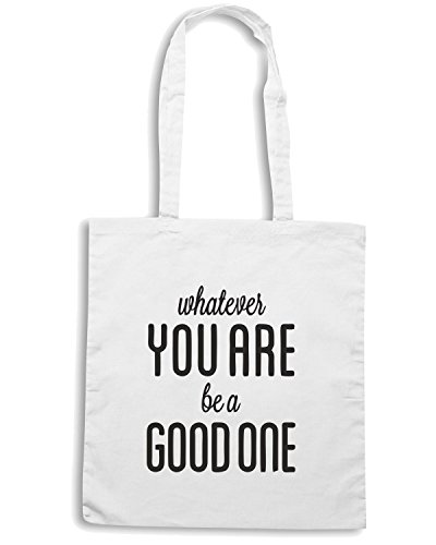 T-Shirtshock - Borsa Shopping CIT0015 Abraham Lincoln Bianco