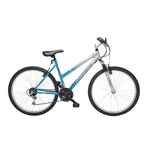 41LxkEuzUFL. SS500  - Emmelle MO032B Women's Tuscany Hardtail Bike - Aqua/White, 18 inch Frame/26 inch Wheels