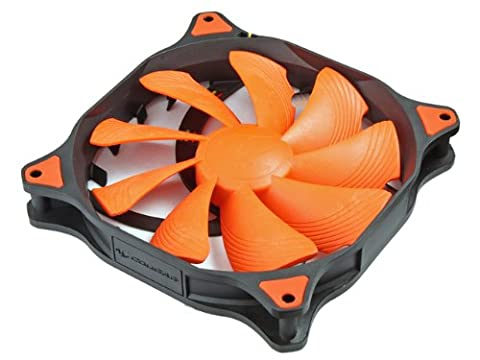 Compucase CF-V12HP Cougar Fan with Hydro-Dynamic Bearing,MTBF300,000hrs and Auto Sensor Control