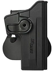 IMI Defense Z1070 tactique Rétention Holster caché portez ROTO rotation étui de revolver pour Sig Sauer 226 (9mm/.40/357), P226 Tactical Operations (Tacops) pistolet