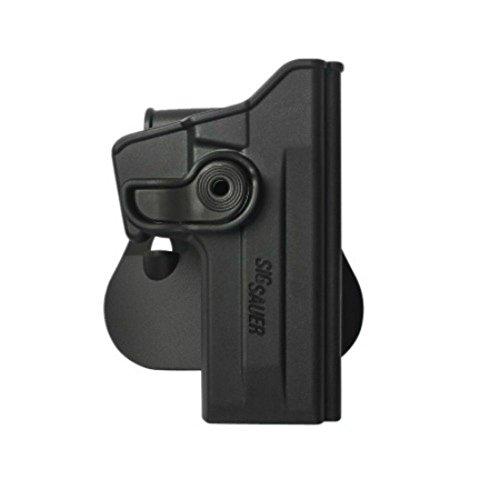 IMI Defense Z1070 Tactical verstellbar drehbar drehung Pistole holster für Sig Sauer 226 (9mm/.40/357), P226 Tactical Operations (Tacops) verdeckte Trage POLYMER Taktik ROTO Pistolenhalfter -