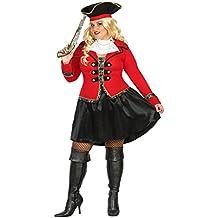 Atosa 31486–Disfraz de pirata para mujer, XXL, 44/46