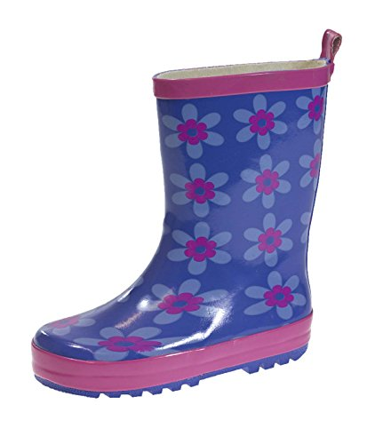 41LxkxNeFpL BEST BUY UK #1Kids Girls Wellies Wellys Wellington Rain Snow Boots Warm Winter Shoes Size UK 4   2 price Reviews uk