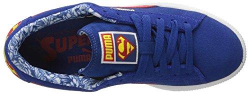 Puma Suede Superman jr Synthetik Turnschuhe Limoges-High Risk Red
