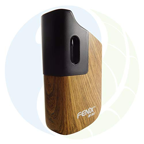 FENiX Mini Vaporizer *Wooden* Verdampfer für Kräuter, Harze und Öle - ECHTE KONVEKTION! Holz-Design! Neueste Version 2019! NIKOTINFREI!!