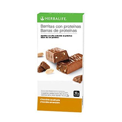 Herbalife Snack (Herbalife Protein Bars - Schokolade Peanut (14 Bars Pro Box) - 490 g)