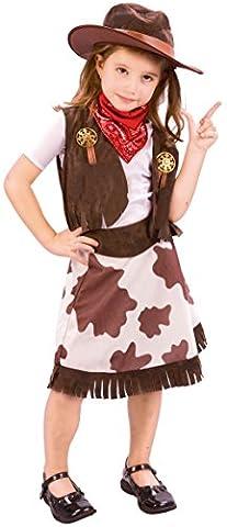Cowgirl - enfants Costume de déguisement - Toddler - 90 à 104cm