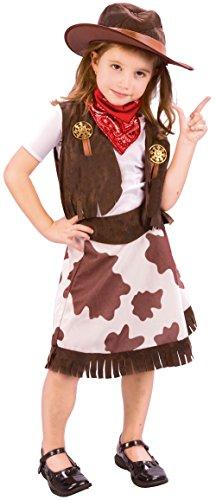 Cowgirl Kleinkind Kostüme Für (Cowgirl - Kinder-Kostüm - Kleinkind - 90 bis)