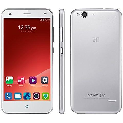 ZTE Blade S6 Smartphone Libre 4G Movil Octa Core Android 5.0 Lollipop Y Doble SIM y Doble modo de Espera Pantalla 5.0