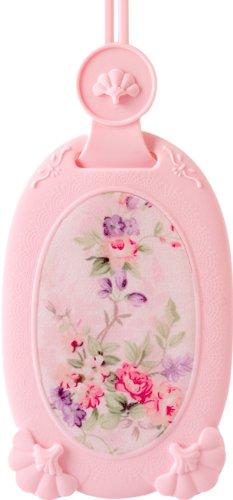 VACII CVC1356AE34 Motivo Etichetta per Valigia in Tessuto e Stile Rococò, Colore: Rosa