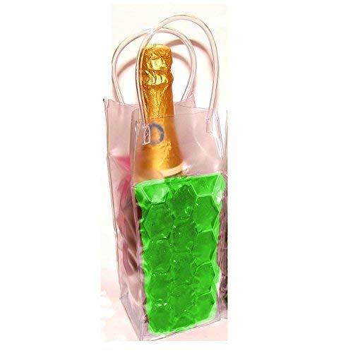 joka international GmbH Party Gel Flaschenkühler Grün Sektkühler, Weinkühler, Kühler Zum einfrieren, bis 1L Flaschen