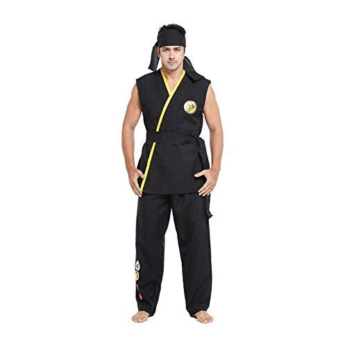 Herren Unüberwindlich Karate Kid Kampfsport Halloween - The Karate Kid Kostüm