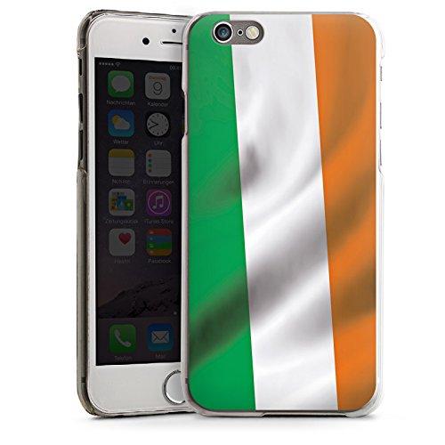 Apple iPhone 4 Housse Étui Silicone Coque Protection Irlande Drapeau Drapeau CasDur transparent