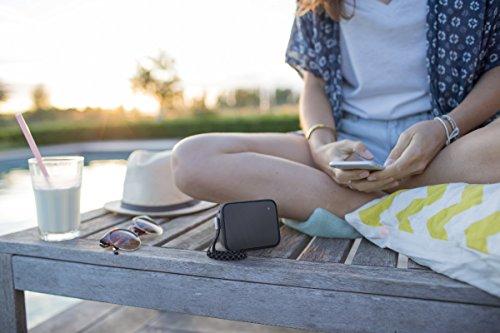 Philips BT110B PixelPop tragbarer Mini Bluetooth-Lautsprecher (Spritzwassergeschützt, 8 Std Akku) s...