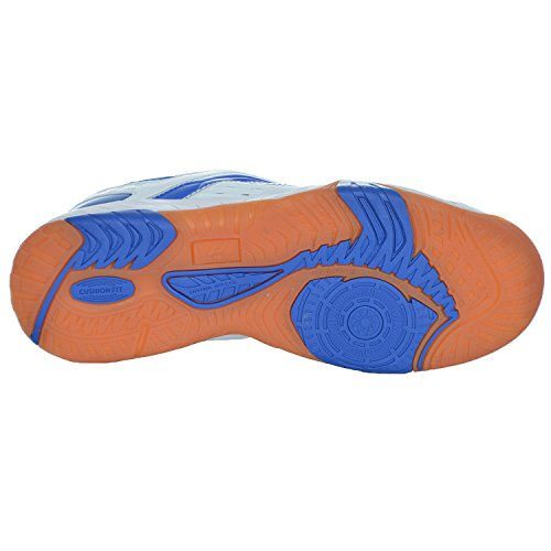 Rebel pro touch chaussures de sport-homme-blanc/bleu Blanc - Blanc