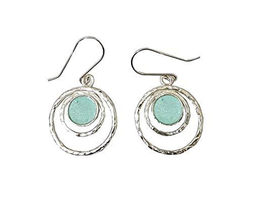 Silber Anceint römischen Glas Ohrringe Israel -