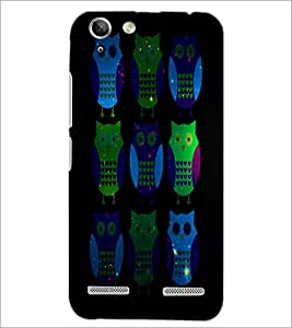 PrintDhaba Owls D-4869 Back Case Cover for LENOVO LEMON 3 (Multi-Coloured)