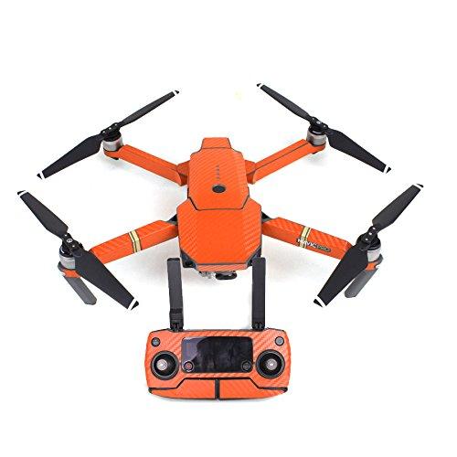 CS PRIORITY Wasserdichte Aufkleber für Drohnenkörper Skin Decals for DJI Mavic PRO Orange