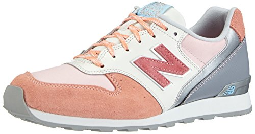 New Balance NBWR996EA Sneaker Arancione (Peach with Pink & Raspberry)