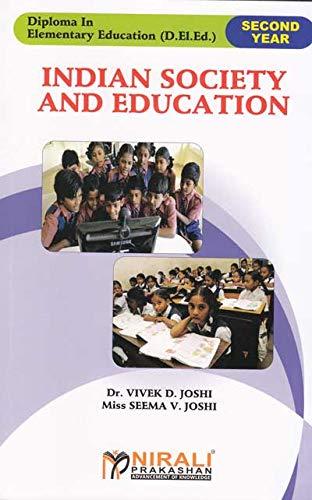 INDIAN SOCIETY AND EDUCATION (English Edition) por Dr. Vivek D. Joshi