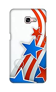 SWAG my CASE Printed Back Cover for Samsung Galaxy A7 (2017)
