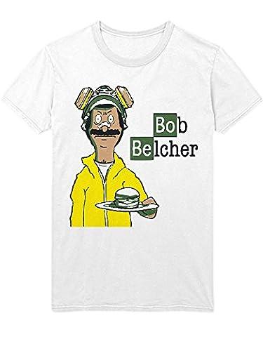 T-Shirt Bob?s Burgers Breaking Bad Mashup