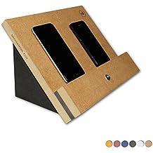 Oachkatzerl VanDock 27 Color Dockingstation (Die Ladestation für Handys, Tablets, e-Reader und mehr) VD27 - (Braun)