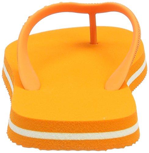 Goganics Bicolore Unisex Adulto Sandali Arancione (arancione 500)