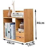 Simple Mesa Pequeña Librería Creativa De Niños Rack Simple Moderno Dormitorio De Almacenamiento Estante,S