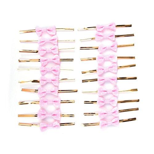 Twist Krawatten Schleife Geschenk Verpackung für Cookie Süßigkeiten Taschen (Rosa) ()
