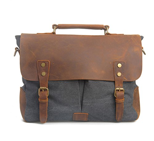 imayson-men-womens-vintage-canvas-leather-schoolbag-shoulder-crossbody-messenger-baggrey