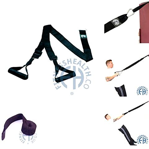 FH Pro Suspension Training | Home Outdoor Workout System | Bodyweight Trainer by Fitness Health