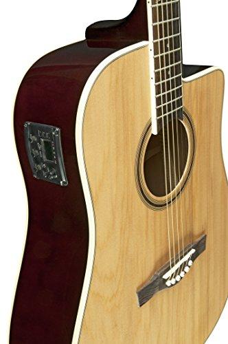 Eko Next serie cutaway dreadnought chitarra elettroacustica,