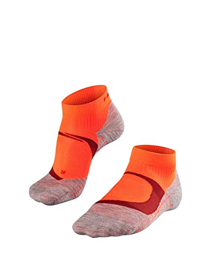 FALKE Damen RU4 Cool Short Runningsocken, neon red, 41-42 (Neon Running Shorts)