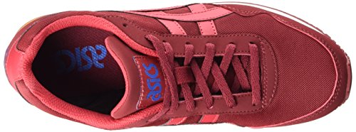 Asics Curreo, Baskets Basses Mixte Adulte Rouge (burgundy/red 2623)