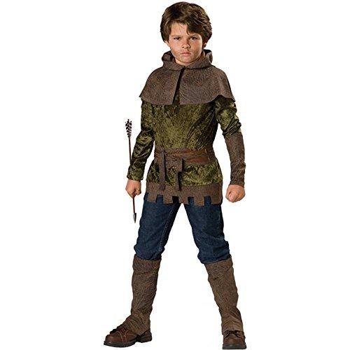Robin Hood Kostüm für Kinder 6teiliig - 134/140