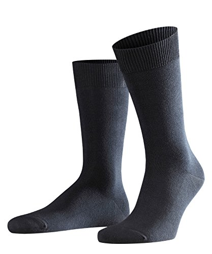 FALKE Herren Swing 2-Pack M SO Business Socken, Blickdicht, Blau (Dark Navy 6370), 39-42 (2er Pack) -