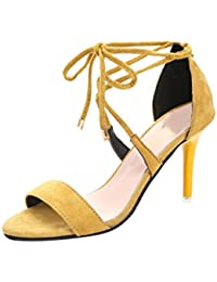 629f4288f26 Amazon.co.uk  Yellow - Sandals   Women s Shoes  Shoes   Bags
