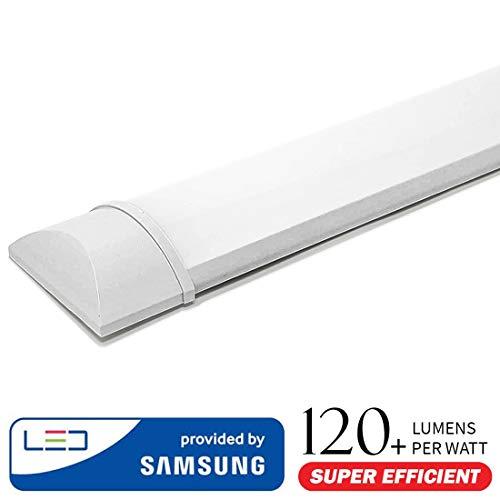 LED 40 Watt Decken Leuchte Wohnraum Leiste Lichtschiene Strahler EEK A+ Lampe V-TAC 4994