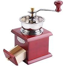 Molinillo de café manual, molinillo de café retro de la mano Molinillo de café molinillo