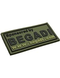 3.2 x 2.5cm 3D Rubber Patch / Abzeichen Sonderzeichen aus Gummi mit Klett