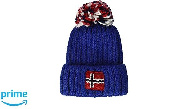 0cfb849d6e0590 Napapijri Baby Semiury Hat Blue (Bright Royal Ba5), 51/53 (Size: 3): Amazon. co.uk: Clothing