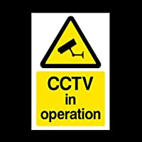 USSP&S CCTV in Operation Plastic Sign - Different Pack Security, Camera, Closed Circuit TV, Warning Safety (MISC11)