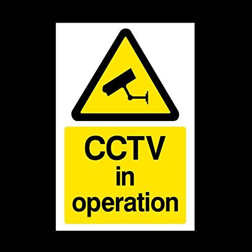 CCTV in Operation Window Sticker...