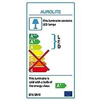 AUROLITE LED 24W IP44, Ø 35cm, 4000K, 1950LM, Bathroom, Kitchen, Hallway, Office, Corridor, Flush, Bath Ceiling Lights, Hight Quality